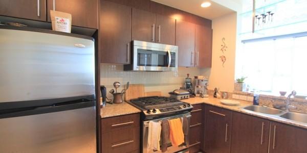 3202-455 Beach Avenue - Kitchen
